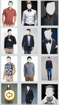 Men Wears Photo Selfie screenshot 1