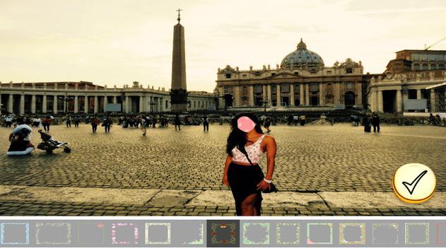 Photo Editor - Rome Tour screenshot 9