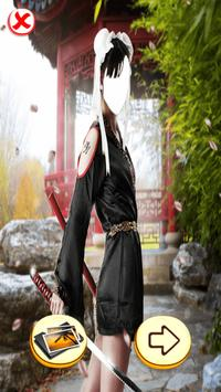 Photo Editor - Samurai Photo poster