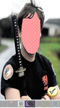 Photo Editor - Samurai Photo screenshot 10