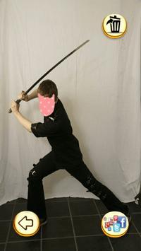 Photo Editor - Samurai Photo screenshot 13