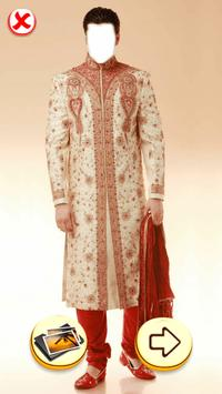Photo Editor - Sherwani Dress poster