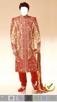 Photo Editor - Sherwani Dress screenshot 13