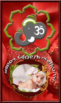 Ganesh Chaturthi Photos Frames poster