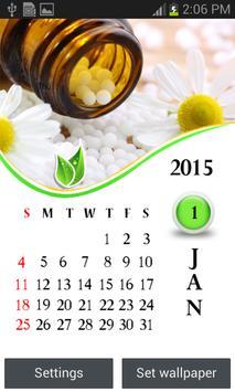 Homeopathy 2015 Calendar poster