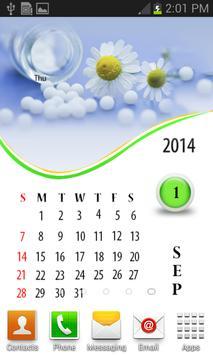 Homeopathy 2015 Calendar apk screenshot