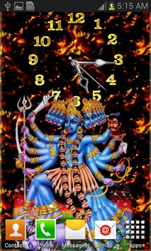 Kali Mata Clock Live Wallpaper screenshot 12