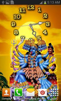 Kali Mata Clock Live Wallpaper screenshot 27