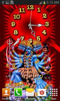 Kali Mata Clock Live Wallpaper screenshot 22