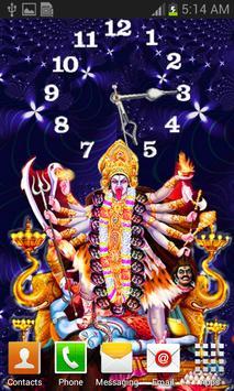 Kali Mata Clock Live Wallpaper screenshot 3