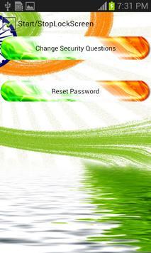 India Flag Pattern Lock Screen screenshot 22