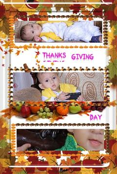 Thanks Giving Day PhotoCollege screenshot 6
