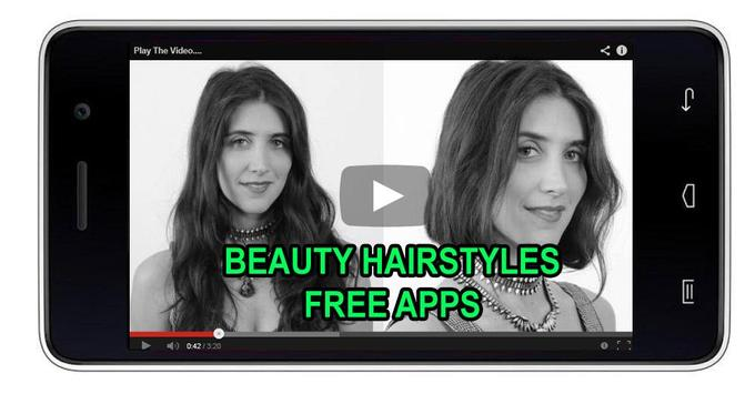 50 Beauty Hairstyles Offline screenshot 2