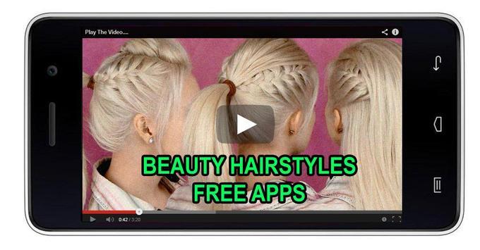 50 Beauty Hairstyles Offline screenshot 3