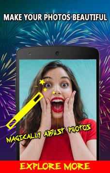 New Year Photo Editor - Happy New Year 2018 Frames poster
