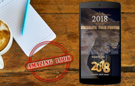 New Year Photo Editor - Happy New Year 2018 Frames screenshot 2