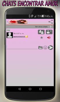 Chats Encontrar Amor Gratis screenshot 3