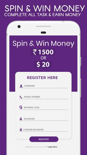 Spin - Win Real Money for Android - APK Download