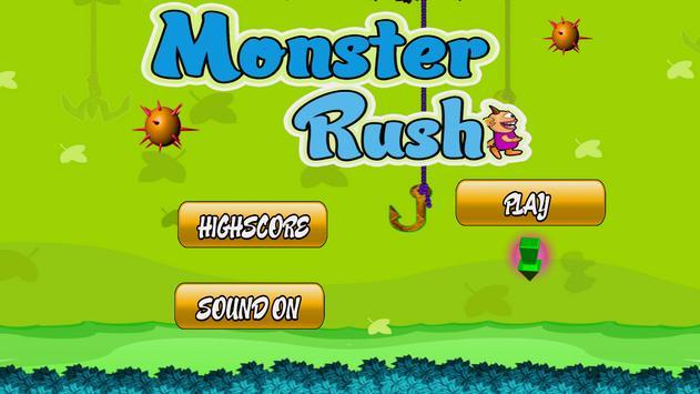 Monster Angry Rush poster