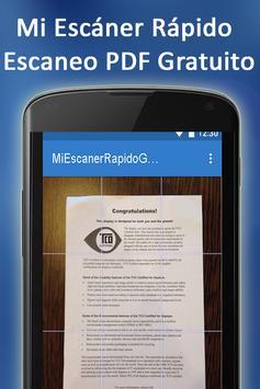 Mi Escaner Rapido Gratuito screenshot 2