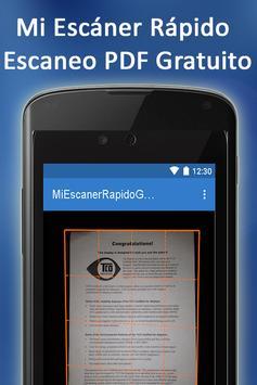 Mi Escaner Rapido Gratuito screenshot 8