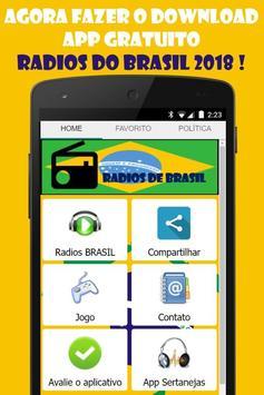 Radios Brasil Gratis: Radios Brasileras online screenshot 1