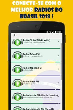 Radios Brasil Gratis: Radios Brasileras online screenshot 3