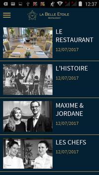 La Belle Étoile Restaurant poster