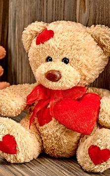 Teddy Bear Live Wallpaper apk screenshot