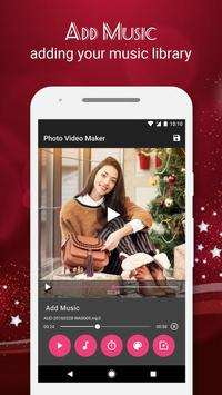 Christmas Video Maker with Music screenshot 1