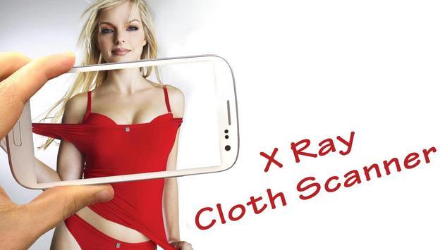 Xray Cloth Scanner Prank poster