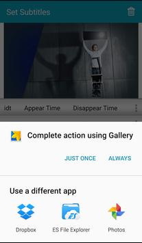 Set Subtitles apk screenshot