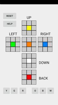 Beginner Rubik's Cube Solver poster