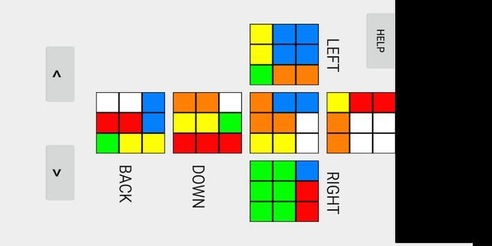 Beginner Rubik's Cube Solver screenshot 1