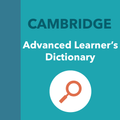 CAMDICT - Advanced Learner's Dictionary