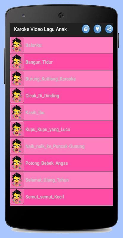 Download kumpulan lagu anak-anak indonesia terpopuler sepanjang.