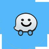 Navigation Waze maps , gps , traffic , alerts Tips icon