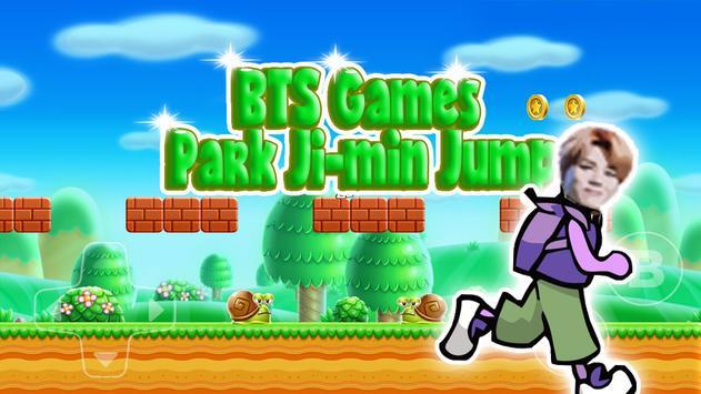 BTS Games Jimin Jungle Jump poster