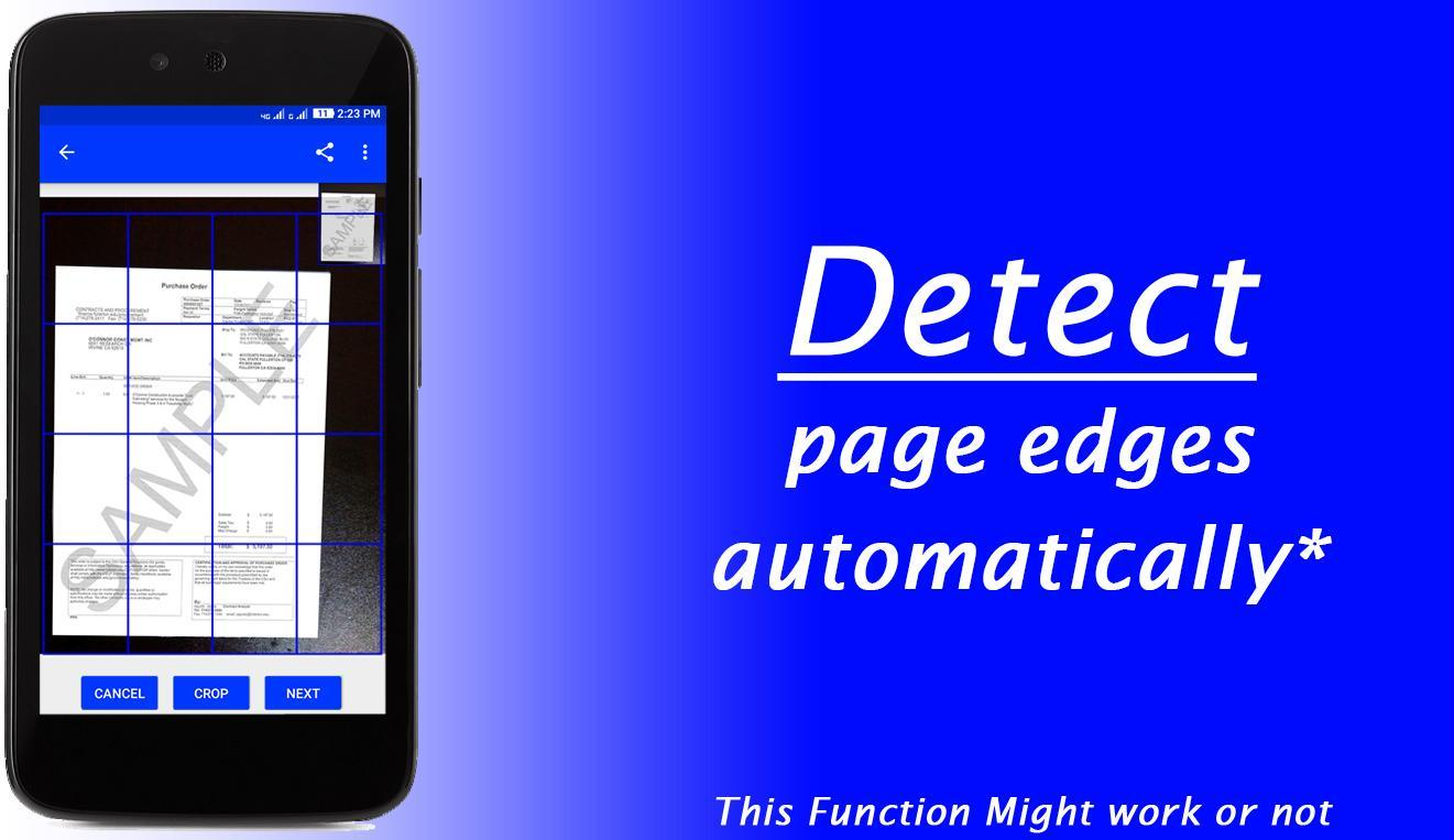 Pdf Scanner Document Scan Ocr - Scan Paper & Image for Android - APK
