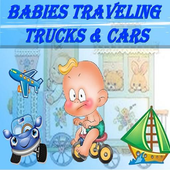 Babies traveling - Vehicles icon
