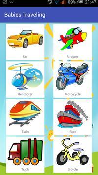 Babies traveling - Vehicles screenshot 5