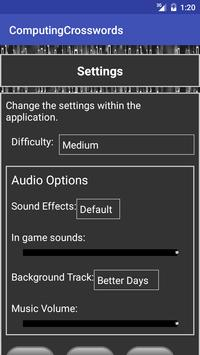 Computer Science Keyword XWord screenshot 1