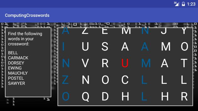 Computer Science Keyword XWord screenshot 6