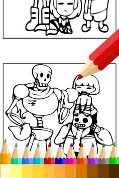 Drawing app for Undertale Sans apk screenshot