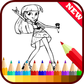 Drawing app for Equestria Girl icon