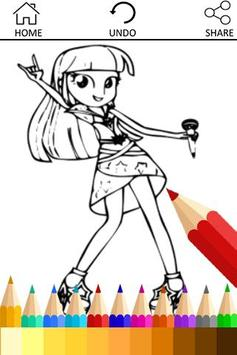 Drawing app for Equestria Girl poster