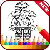 Drawing app for Ninjago Fans icon