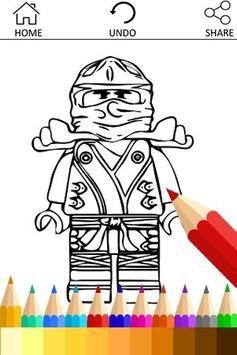Drawing app for Ninjago Fans poster