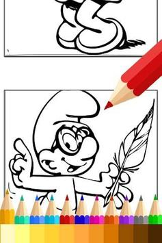 Drawing app for Smurfs Fans screenshot 1