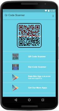 Qr Code Barcode Scanner - Qr Code Bar-code Reader poster